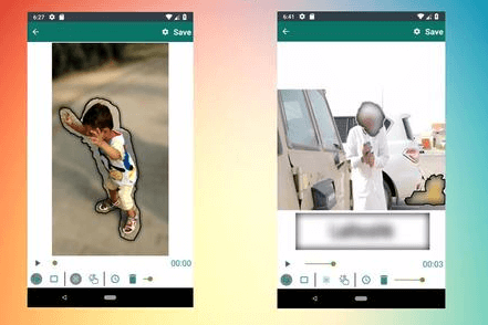 aplikasi edit video jadi bokeh full android offline