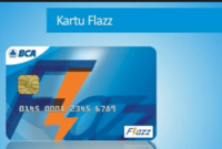 cara top up flazz bca