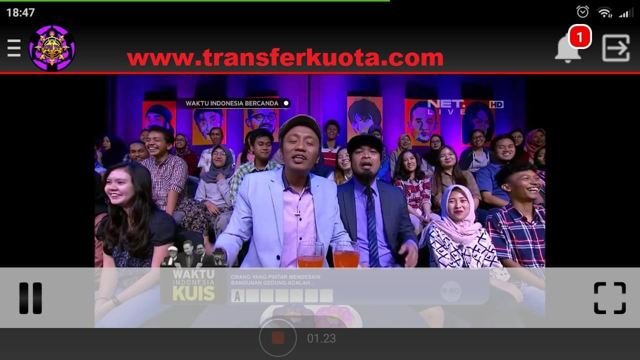 aplikasi streaming tv online android