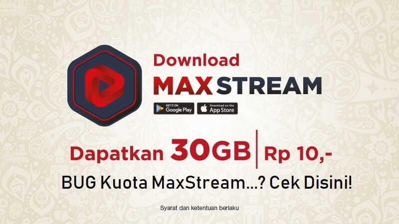 bug kuota maxstream telkomsel