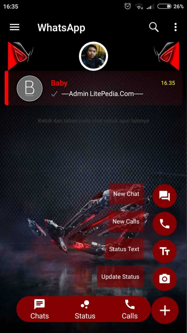 download bbm transparan clone