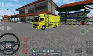 download mod truck canter bussid