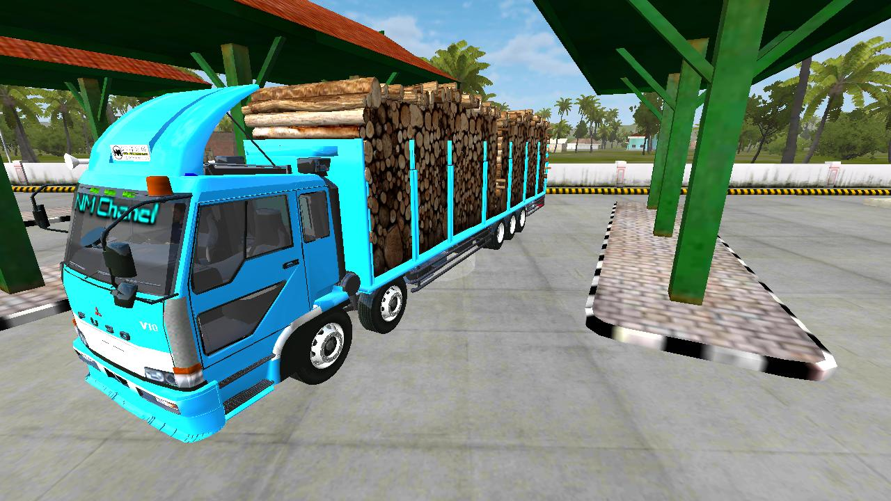 mod bussid truck fusso
