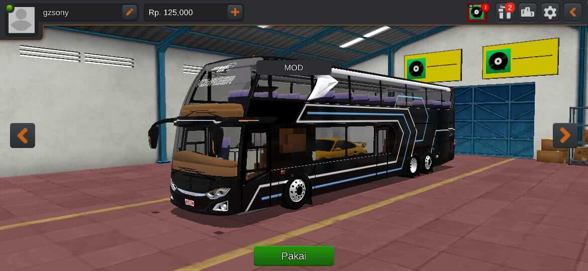 JetBus SDD 3+ Voyager isi Mobil Mercedez-Benz