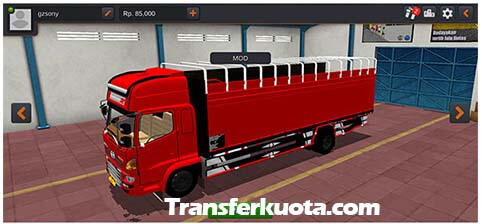 download mod bussid truck bak full led