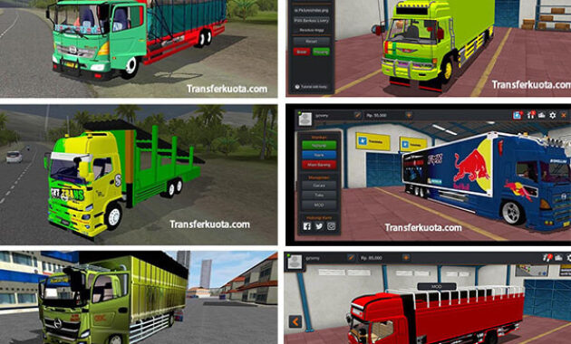 MOD Bussid Truck Hino
