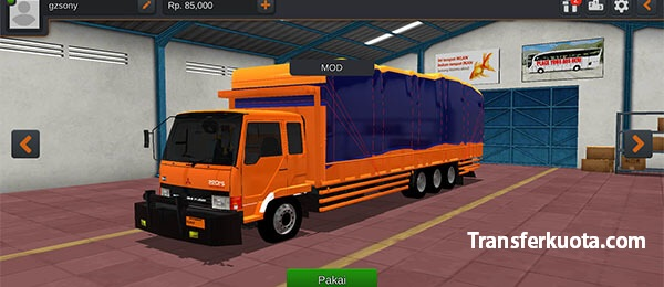 download mod truck fuso tribal bussid
