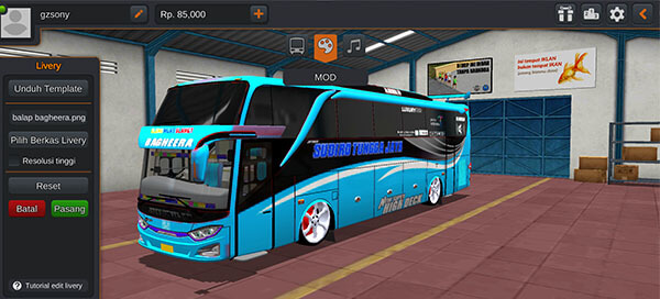 bus ceper racing